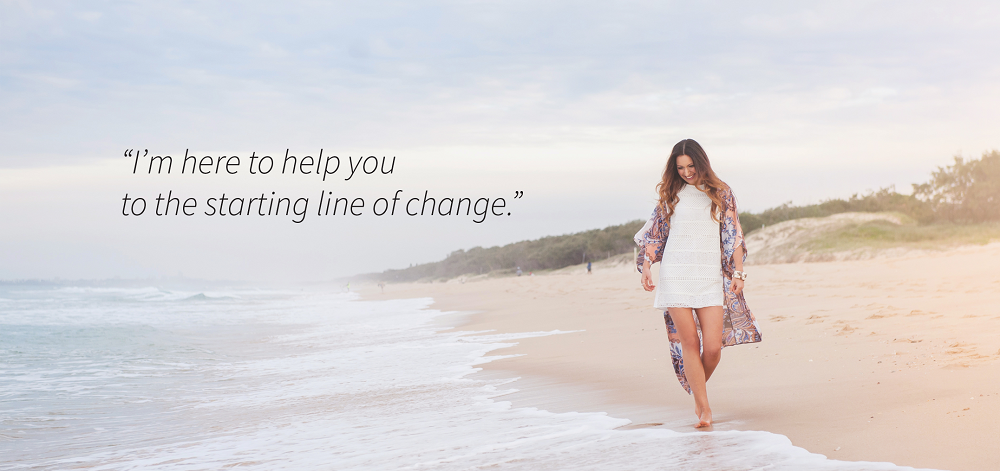I'm here to help you to the starting line of change